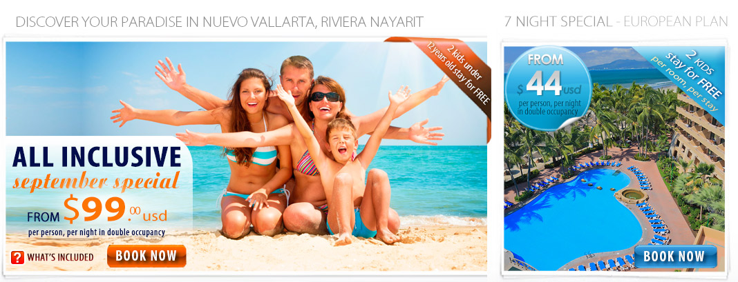 All Inclusive puertovallarta beachfront